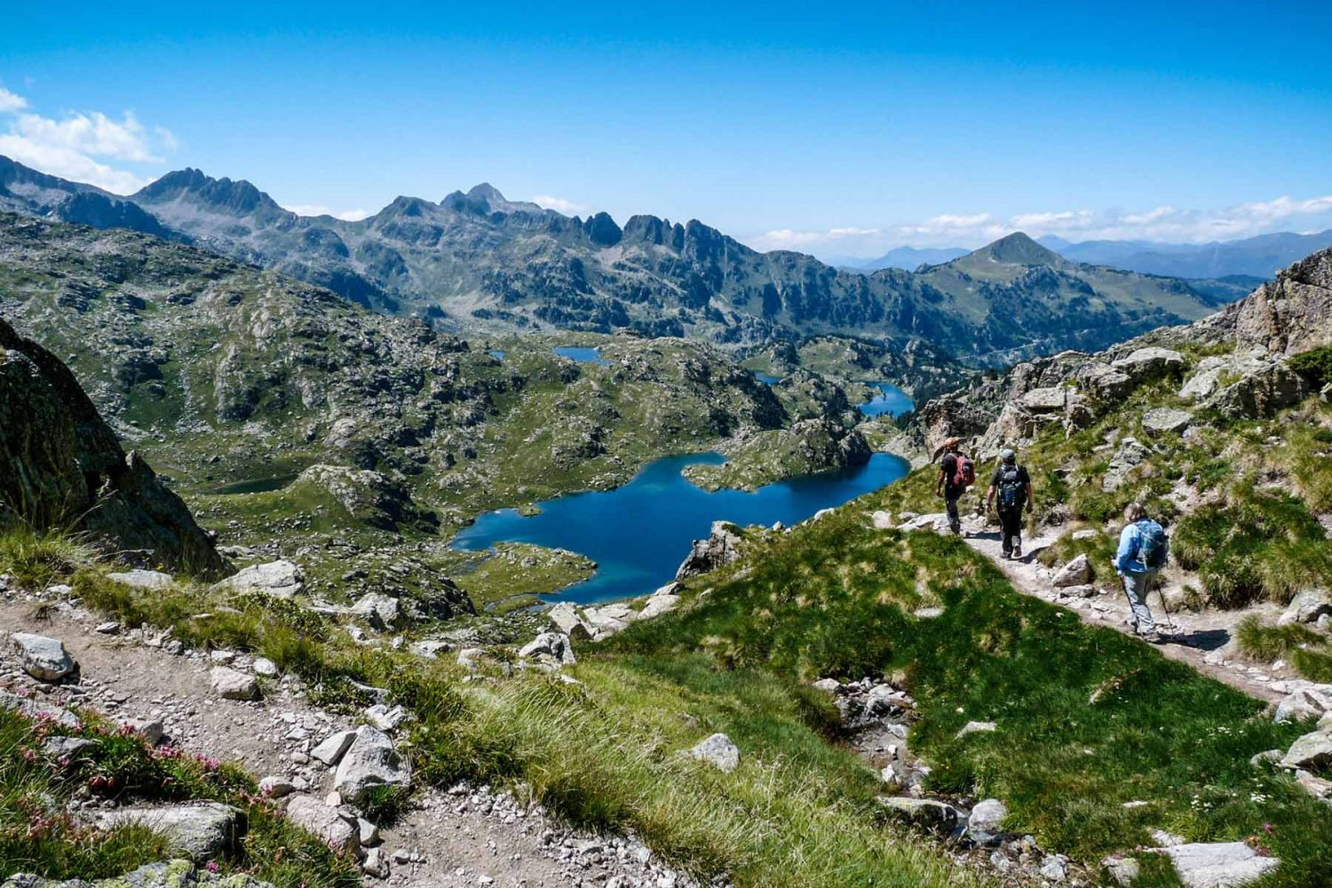 Trekking in the Spanish Pyrenees Iberian Advendures