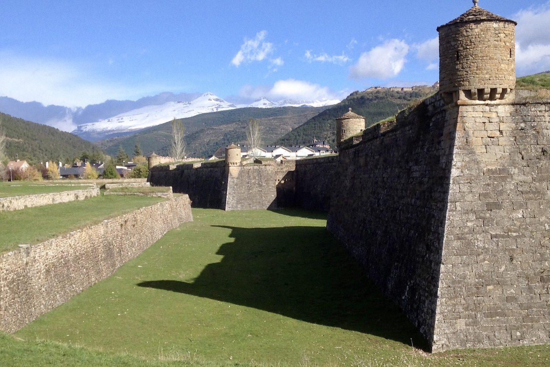 Camino Aragones citadel in Jaca